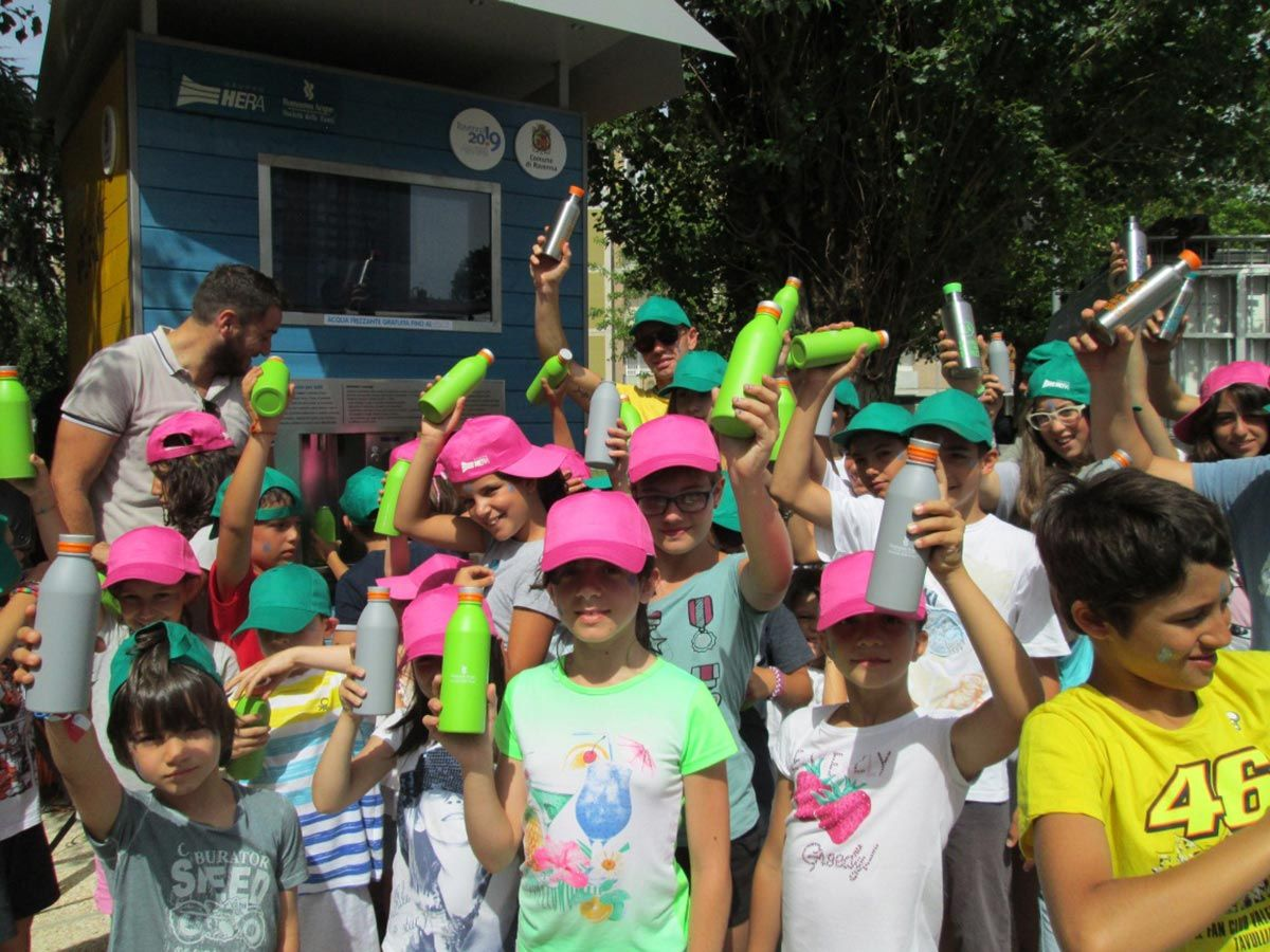 Adriatic Acque le case dell'acqua galleria